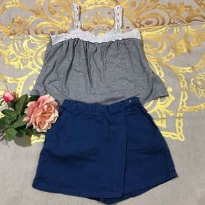 Bundle Blouse and skirt/Short (J34)